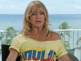 Snatched: Goldie Hawn on Christopher Meloni bringing Rodger to life (International)
