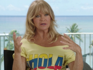 Snatched: Goldie Hawn on how Amy continues to develop the film (International)