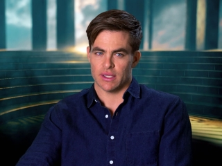 Wonder Woman: Chris Pine On His Character