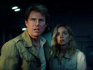 The Mummy: Nick Saves Jenny From The Plane Crash
