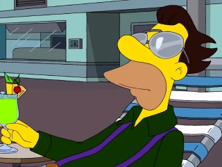 The Simpsons: Monty Burns' Fleeing Circus
