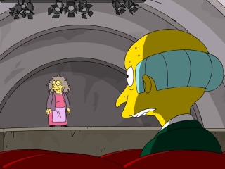 The Simpsons: Mr. Burns Heckles A Surprising Audition