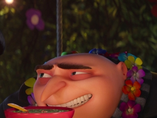 Despicable Me 3: The Girls Surprise Gru And Lucy With A Luau