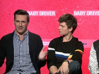 Baby Driver: Jon Hamm, Ansel Elgort And Jamie Foxx On Knowing On Set This Film Would Be Special