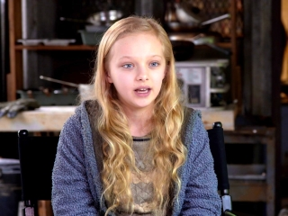 War For The Planet Of The Apes: Amiah Miller On Matt Reeves