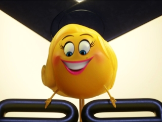 The Emoji Movie: Character Vignette-Smiler