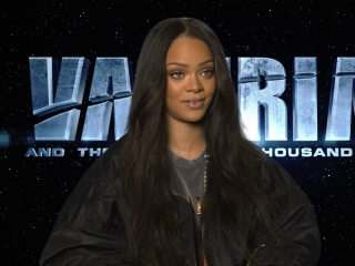 Valerian And The City Of A Thousand Planets: Rihanna On How She Got Involved