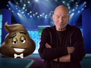 The Emoji Movie: Sir Patrick Stewart On His Character