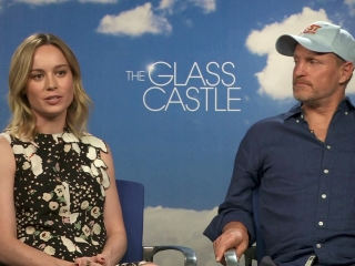 The Glass Castle: Woody Harrelson And Brie Larson On Brie Reading The Book