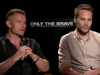 Only The Brave: James Badge Dale And Taylor Kitsch On Getting The Role