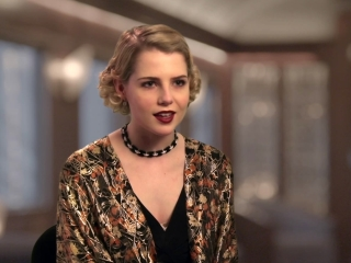 Murder On The Orient Express: Lucy Boynton on The Sets (International)