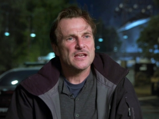 The Commuter: Richard Bridgland On The Set