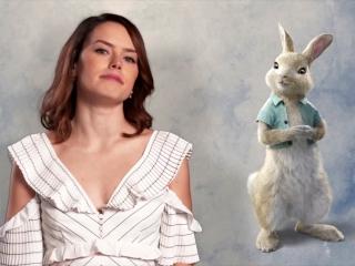 Peter Rabbit: Daisy Ridley As 'Cotton-Tail' (Vignette)