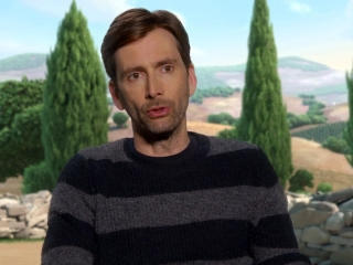 Ferdinand: David Tennant On His Character 'Angus'