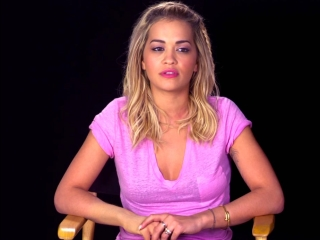 Fifty Shades Freed: Rita Ora On Working With E.L. James