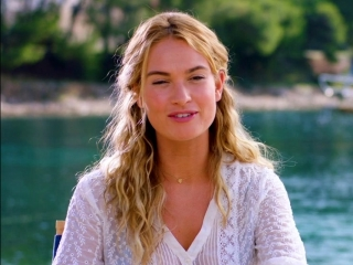 Mamma Mia! Here We Go Again: Lily James on Getting the Role