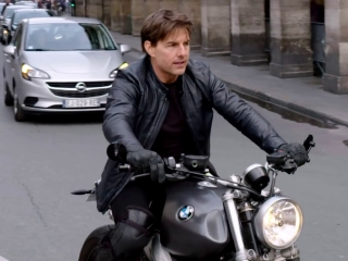 Mission Impossible Fallout Paris Motorcycle Behind The Scenes