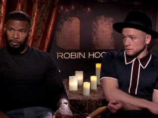 Robin Hood: Jamie Foxx and Taron Egerton On Ben Mendelsohn Playing The Role 'Sheriff'