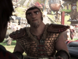 How To Train Your Dragon: The Hidden World: Eret Warns The Vikings About Grimmel