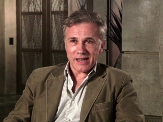 Alita: Battle Angel: Christoph Waltz On Robert Rodriguez