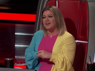 The Voice: Gyth Rigdon And Rod Stokes Give Their All On Drunk Me