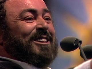 Pavarotti: Umbrellas Down For Princess Diana