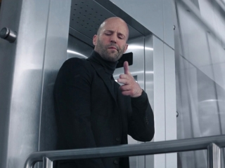 Fast & Furious Presents: Hobbs & Shaw: Hobbs And Shaw Chase Brixton Out The Window Of A Skyscraper