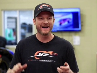 Straight Up Steve Austin: Steve And Dale Earnhardt Jr. Change Race Car Tires