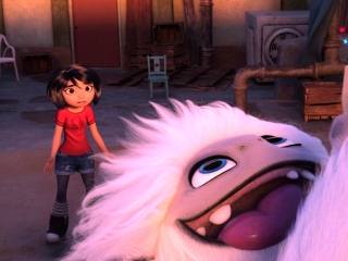 Abominable: Jim And Peng Find Yi And Everest On The Roof
