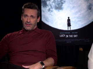 Lucy In The Sky: Jon Hamm On Who 'Mark Goodwin' Is And How He Relates To 'Lucy Cola'