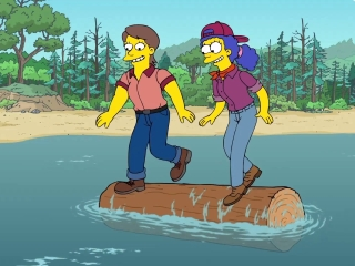 The Simpsons: Marge The Lumberjill