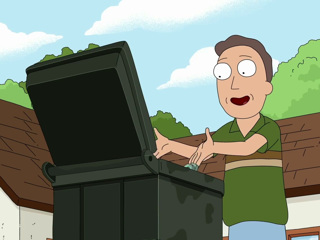 Rick and Morty: Invisible Garbage Truck Jerry