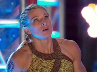 American Ninja Warrior: Jessie Graff Struggles To Hold On To A Shot At The Championship