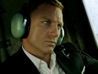 Quantum Of Solace: Plane Crash