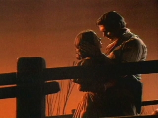 Gone With The Wind Scene: Scarlet And Rhett At Sunset