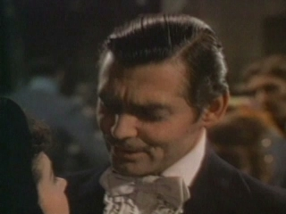 Gone With The Wind Scene: Rhett And Scarlet Dancing