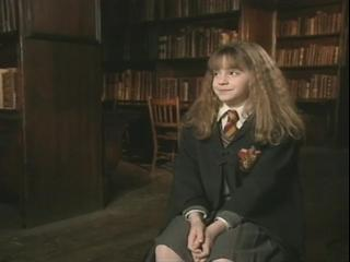 Harry Potter And The Sorcerer's Stone Soundbite: Emma Watson
