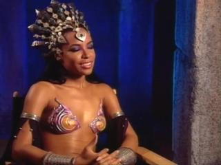 Queen Of The Damned, The-Aaliyah: On Portraying An Evil Character