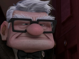 The old man from up name