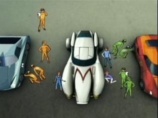 Speed Racer: The Next Generation (Comet Run)