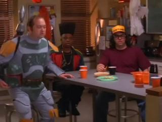 30 Rock: Franks Tells Guys How Important It Is To Celebrate Halloween