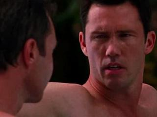 Burn Notice: Hot Tub Scene