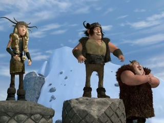 How To Train Your Dragon: Viking Games Medal Ceremony