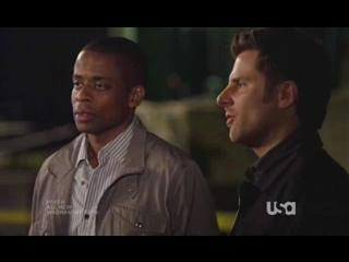 Psych: Shawn And Gus In Drag (Racing)