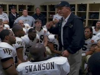 The 5th Quarter: Coach Grobe's Locker Room Speech