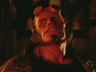 Hellboy Scene: Subway Freefall Fight