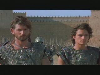 Troy Scene: Hector Vs. Ajax