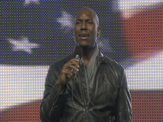 Fast Five: Tyrese Gibson Sings At Nascar's Fast Five 225 Race