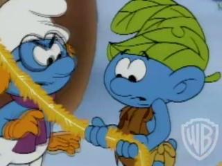 The Smurfs Holiday Celebration: Wild Smurf
