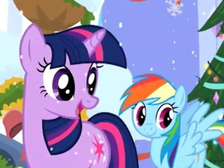 My Little Pony Friendship Is Magic: The Friendship Express: Canterlot Christmas